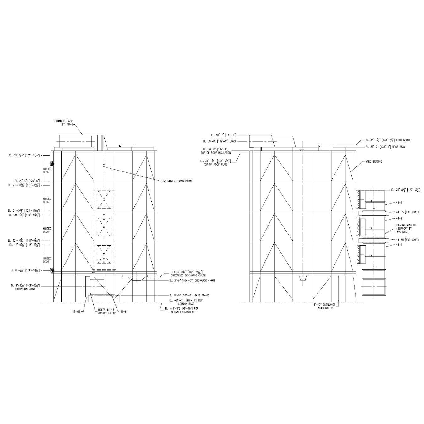 USED WYSSMONT TURBO-Dryer Package Model V37, SN J-525 for