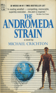 Cover of Andromeda Strain, published 1969