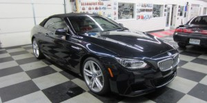 BMW 650i Radar And Laser
