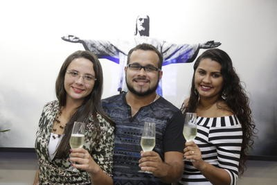 Yasmin, Leandro e Thais | Marcelo Carnaval