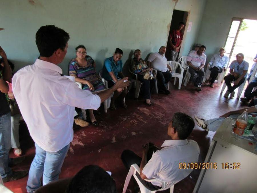 Raul Filho reunido com produtores rural em Palmas -Foto: Antônio Gonçalves