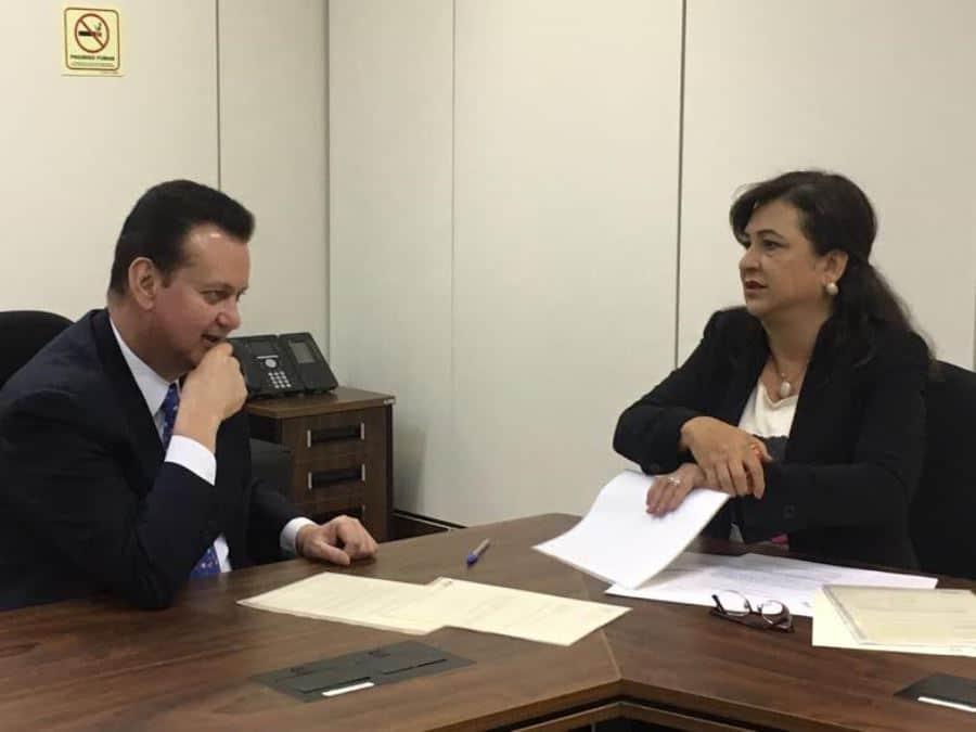 Kátia Abreu pede a ministro Kassab a implantação de Projeto Cidades Digitais em municípios do Estado