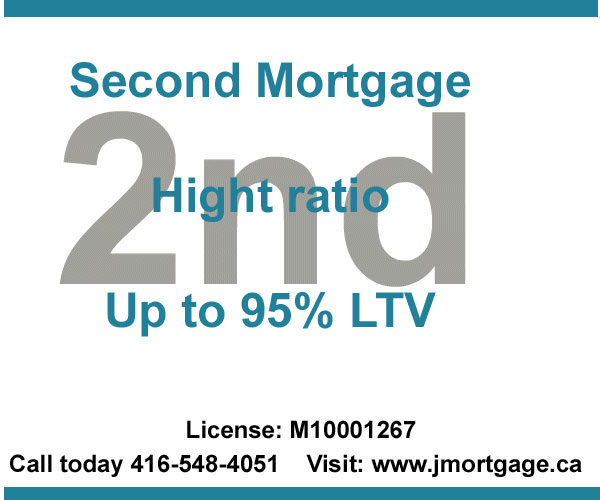 Second Mortgage High Ratio