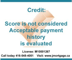 Second Mortgage High Ratio Credit