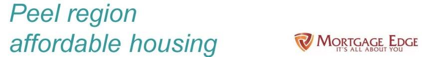 Peel Region Affordable Housing