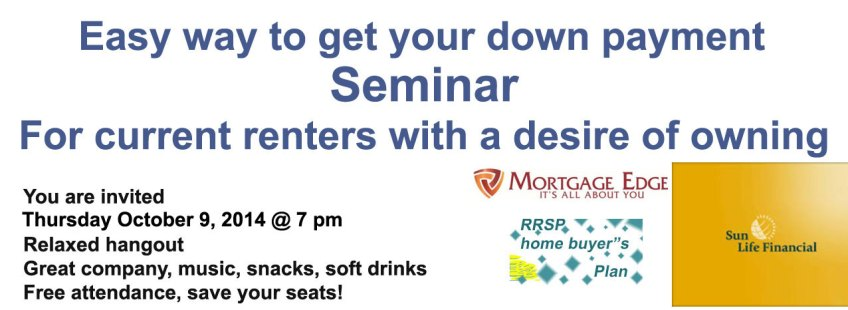 Home down payment seminar