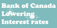 Bank of Canada Lowering interest rates