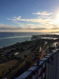 Hawaii blue sunset