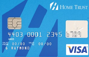 Home trust Visa No application fee