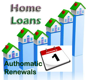 Authomatic Mortgage Renewals