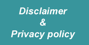 Disclaimer & privacy policy