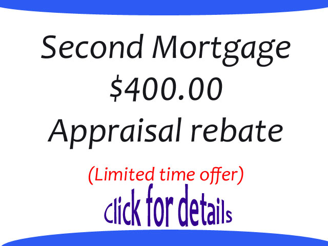 2nd Mortgage 400 Apprraisal