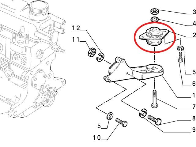 FIAT CINQUECENTO 0.9 & 1.1 Sporting Rear Engine /gearbox