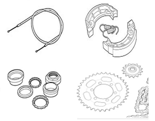 Tomos Parts – A3 A35 & more