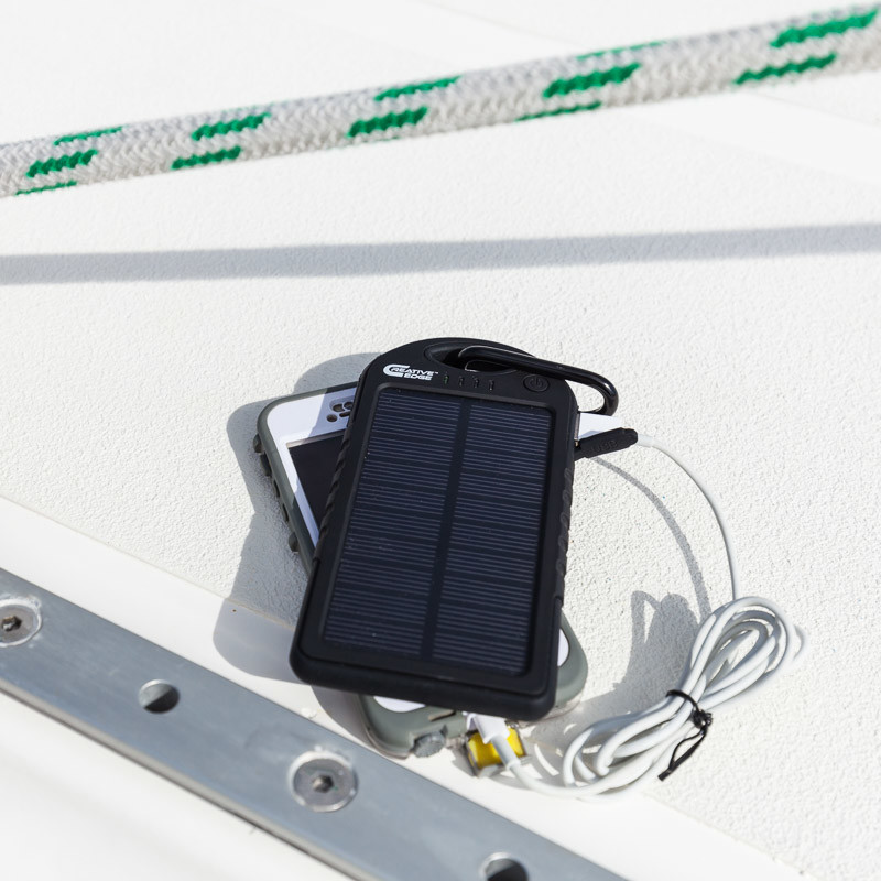 The Goal Zero Nomad 7 Backpacking Solar Charger