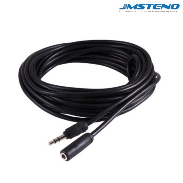 12 Feet Audio Cable 3.5mm Male Female
