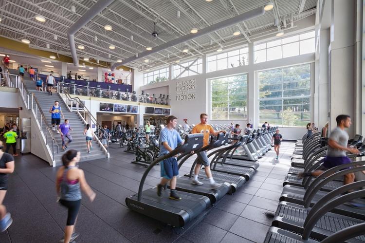 James Madison University  UREC Main Facility