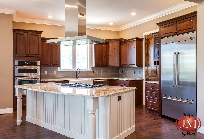 New Center Island Kitchen Design In Castle Rock Jm Kitchen And Bath