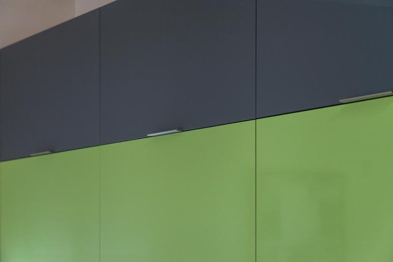 Contemporary Lime Green Kitchen Remodel in Denver  JM