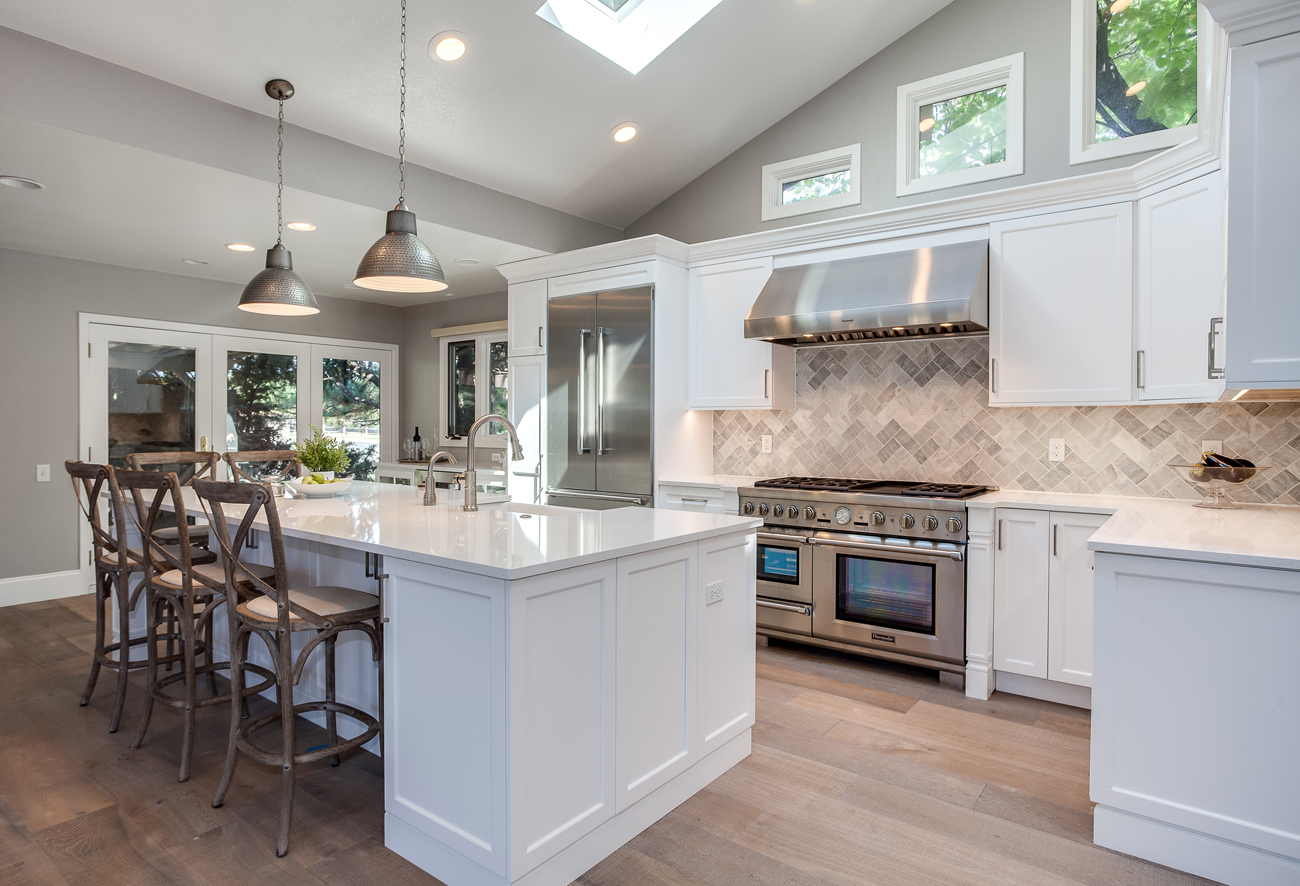 White Shaker Kitchen Remodel in Greenwood Village JM