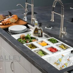 Kitchen Work Station Wall Decor Introducing Galley Sinks An Entire Workstation Jm Sink Reinvent Your At Denver S And Bath