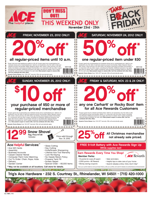 small resolution of ace hardware black friday