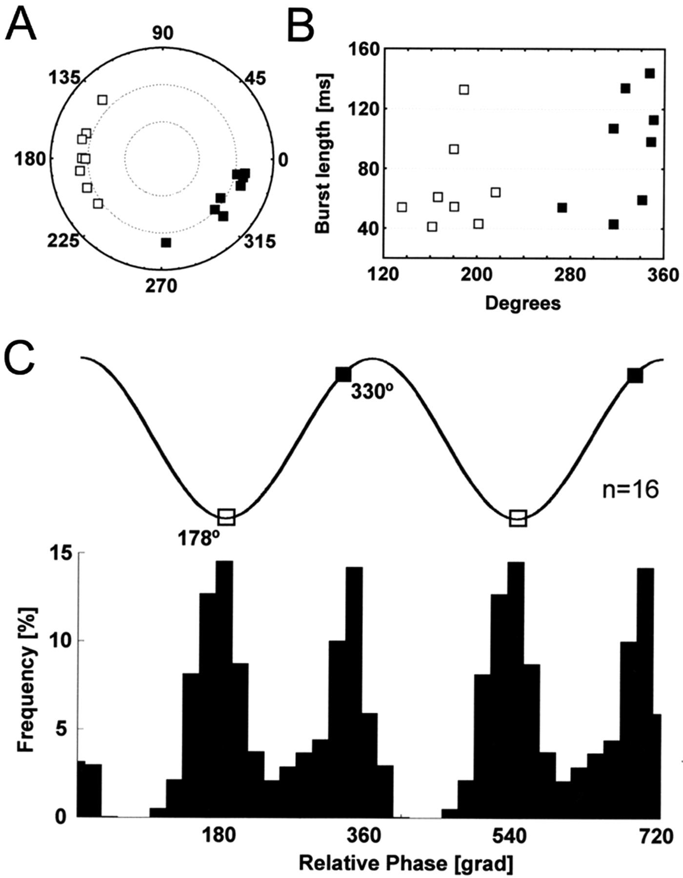 Phase Segregation of Medial Septal GABAergic Neurons