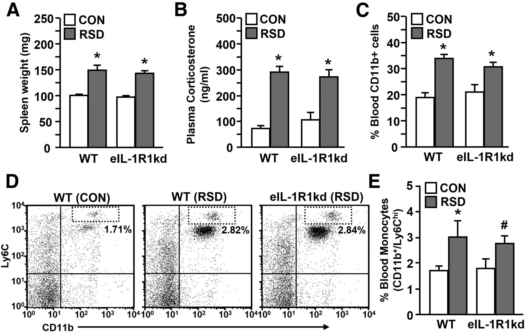 Knockdown Of Interleukin 1 Receptor Type 1 On Endothelial Cells Attenuated Stress Induced