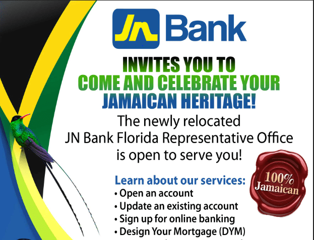 Jn Florida Representative Office To Launch Celebrate Your Heritage Campaign The Jamaica National Group