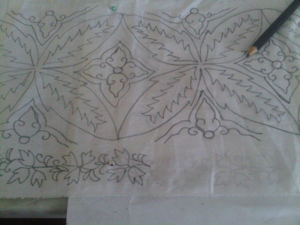 Contoh Gambar Batik Yg Gampang