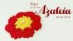 flor de croche passo a passo azaleia