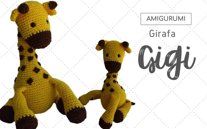 Girafa amigurumi | croch | Tommy no Elo7 | Mindulim (DE15FE ... | 500x800