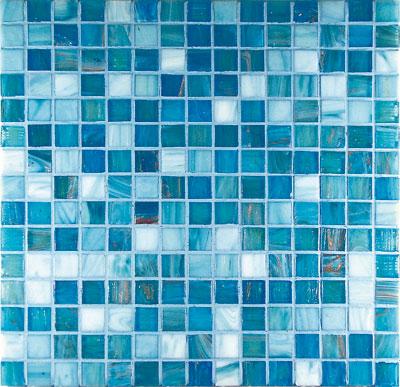Mosaici in Vetro Mosaico in vetro G2 Azzurro Mix