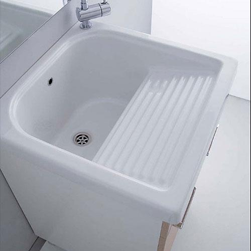 Lavatoi in ceramica Vasca lavatoio in ceramica 60x60 Loira
