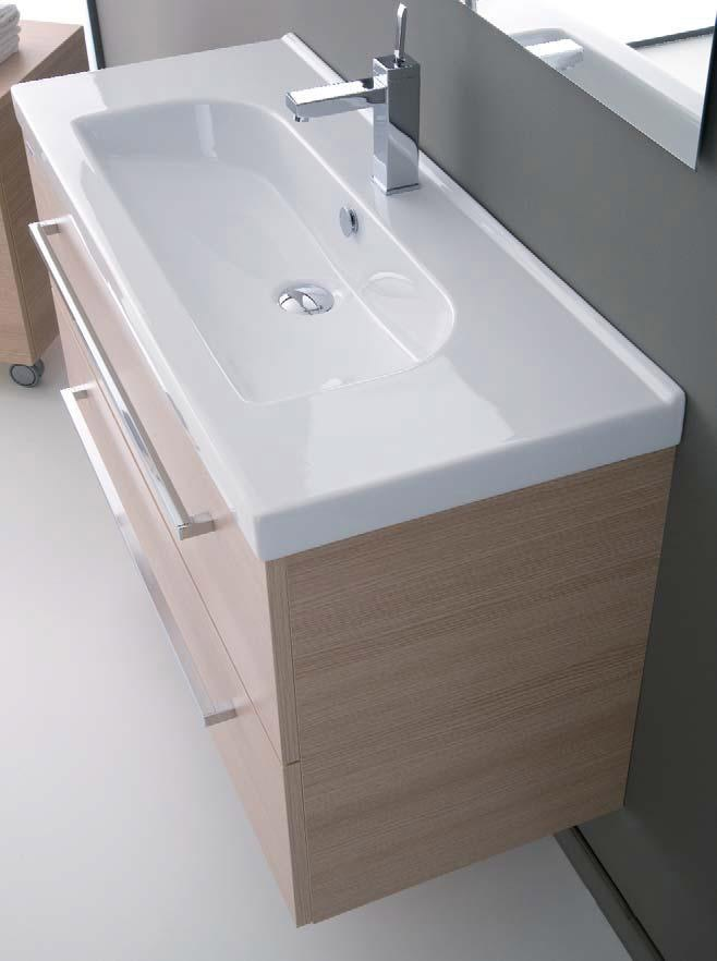 Mobili bagno Arredo bagno Aurora 70 Weng  Profondit 40 cm