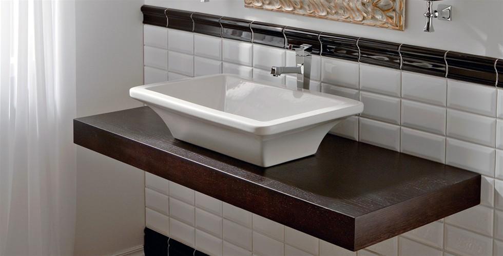 Piano e mensola da appoggio per lavabo bagno  JoBagnoit