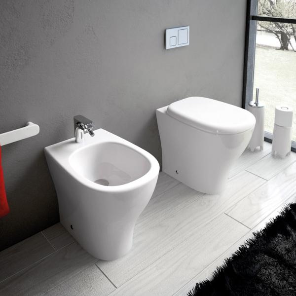 Sanitari Bagno Pavimento e Filomuro Sanitari bagno filo muro Ten