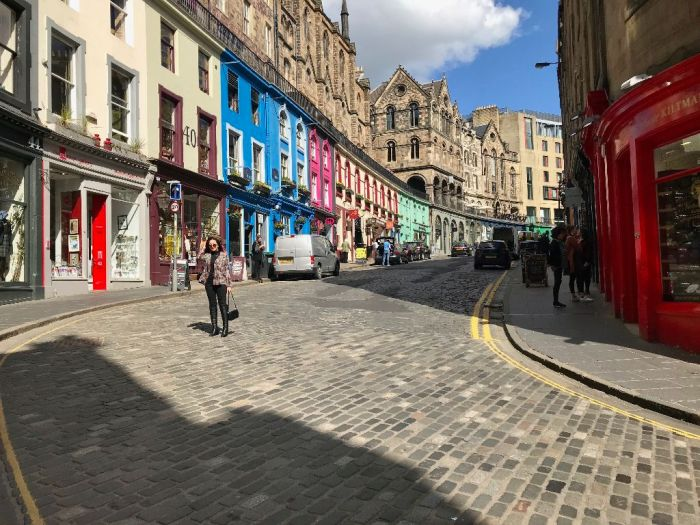 Victoria St, Edinburgh, Harry Potter