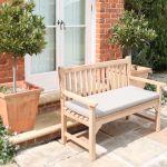 Country Garden Bench Cushion