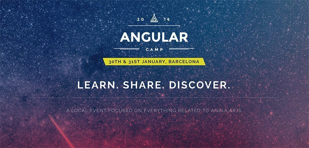 Sorteo de dos entradas para la AngularCamp 2016