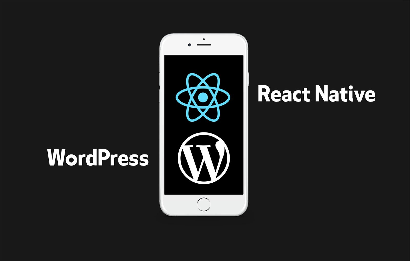 Primera diapositiva presentación WordPress y React Native en la WordCamp Sevilla 2016