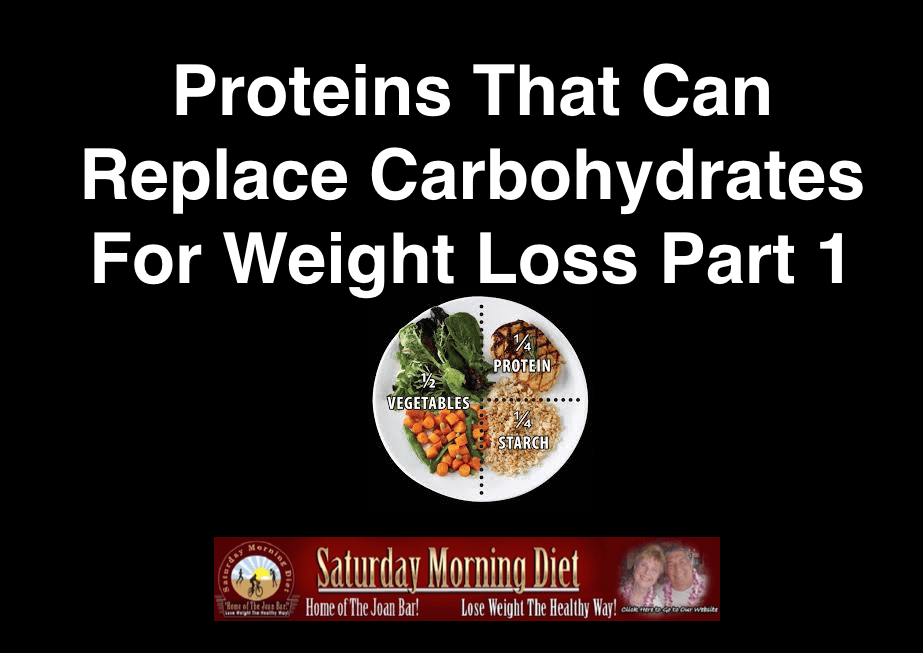 Replace Carbs With Protein