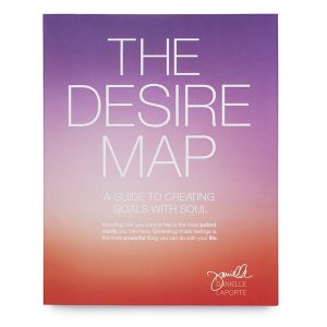 An image of Danielle LaPorte's book The Desire Map