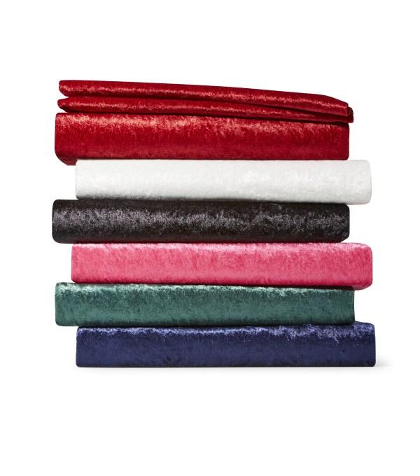 Glitterbug Crushed Panne Velvet Fabric Joann