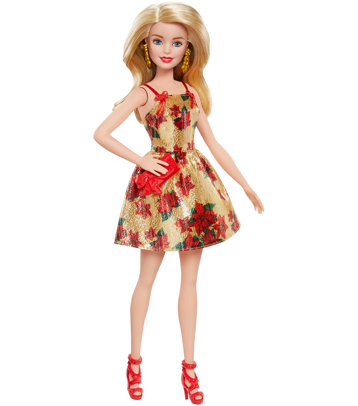 barbie doll with blonde