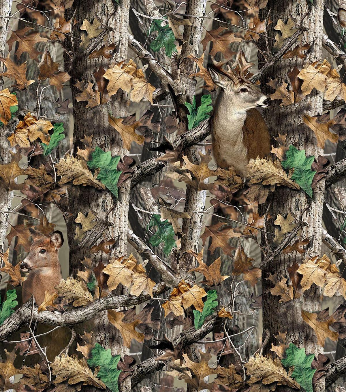 realtree camouflage deer fleece