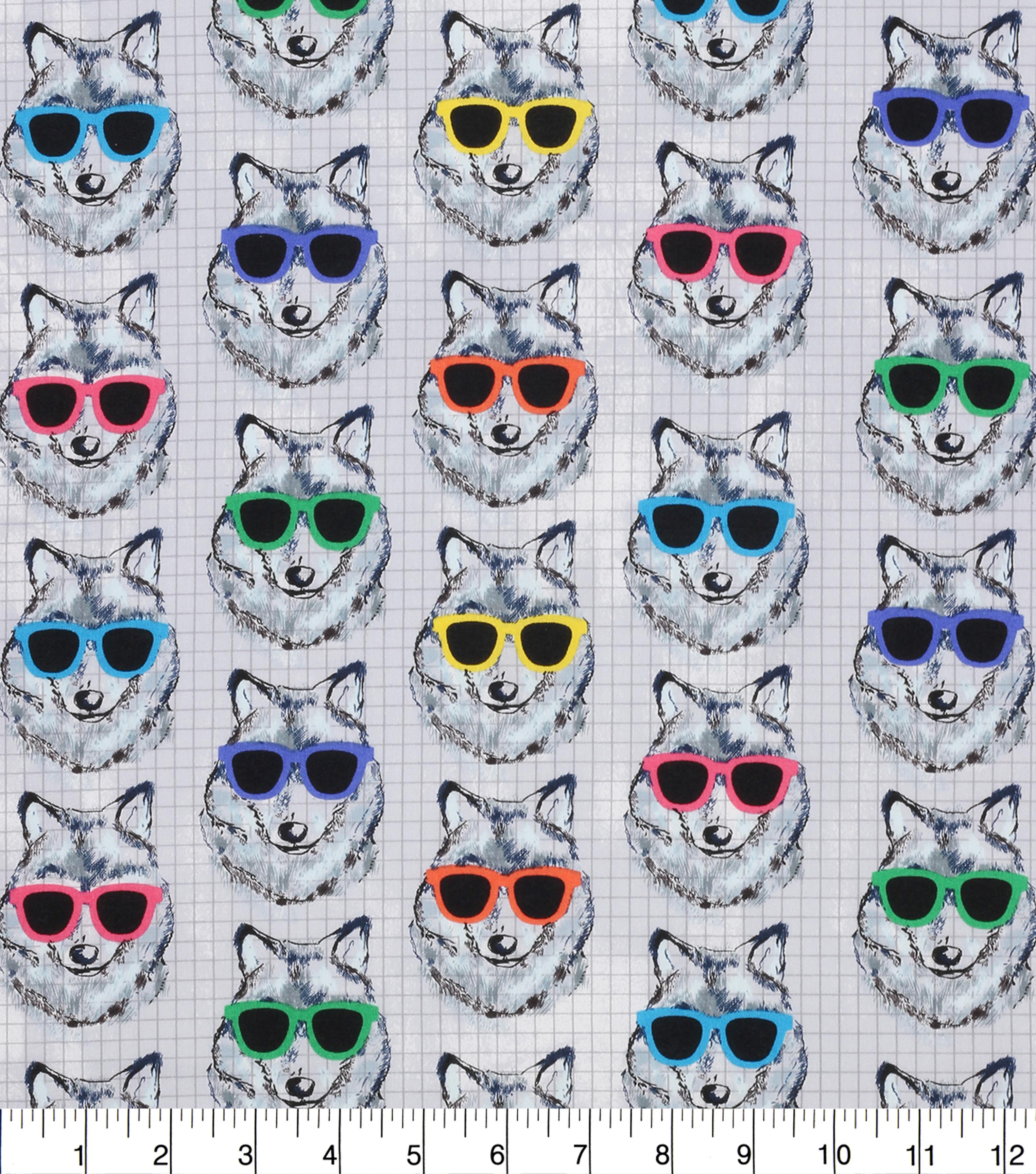 novelty cotton fabric cool