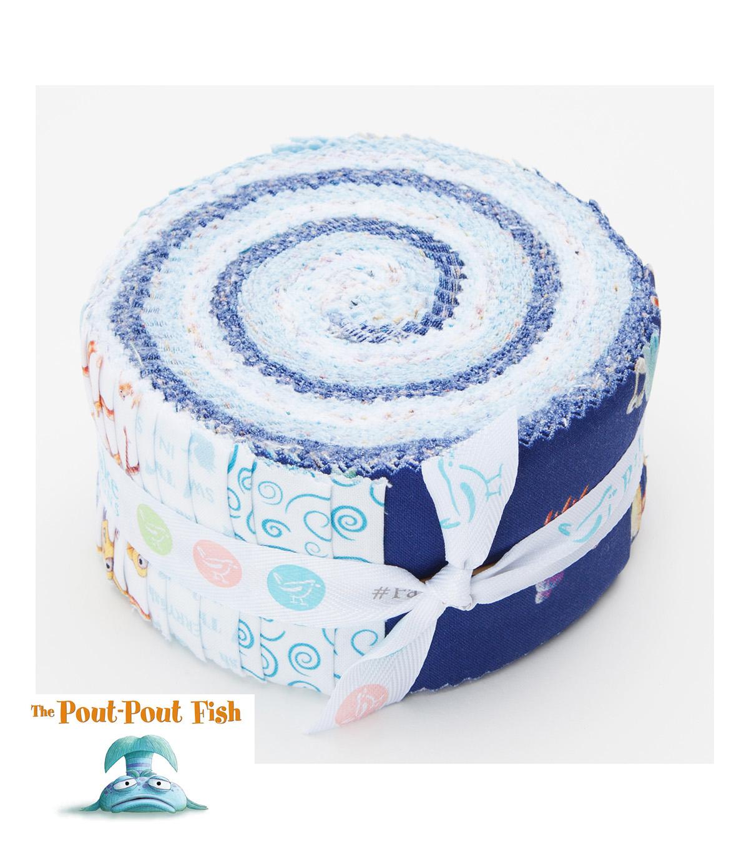 Pre Cut Fabric Pout Pout Fish By Riley Blake