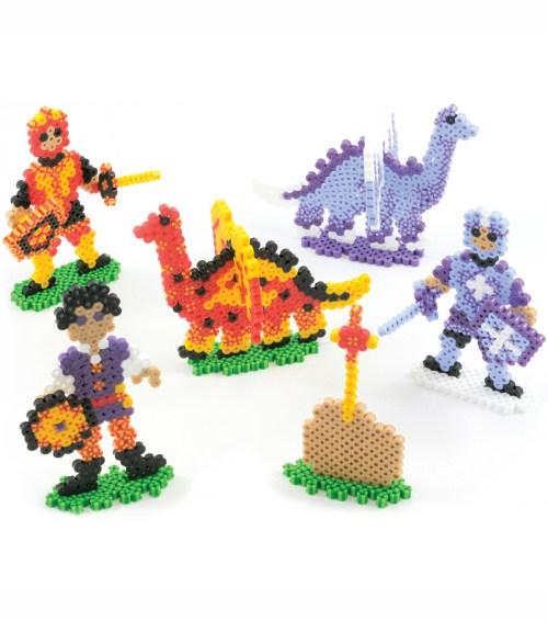 small resolution of perler fun fusion fuse bead activity kit dragons u0027n knights