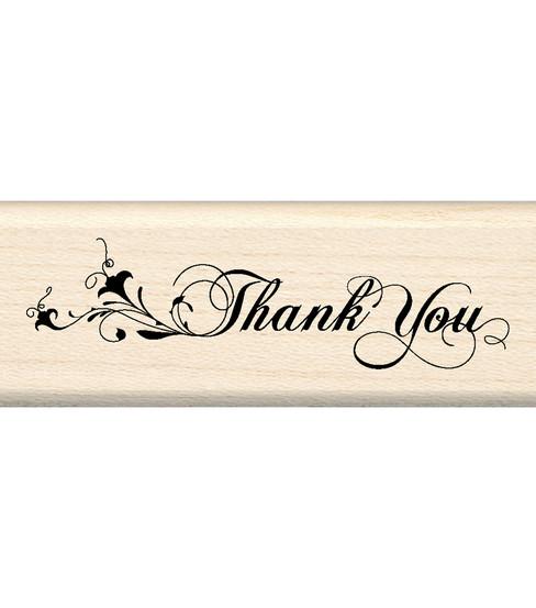 inkadinkado rubber stamp thank